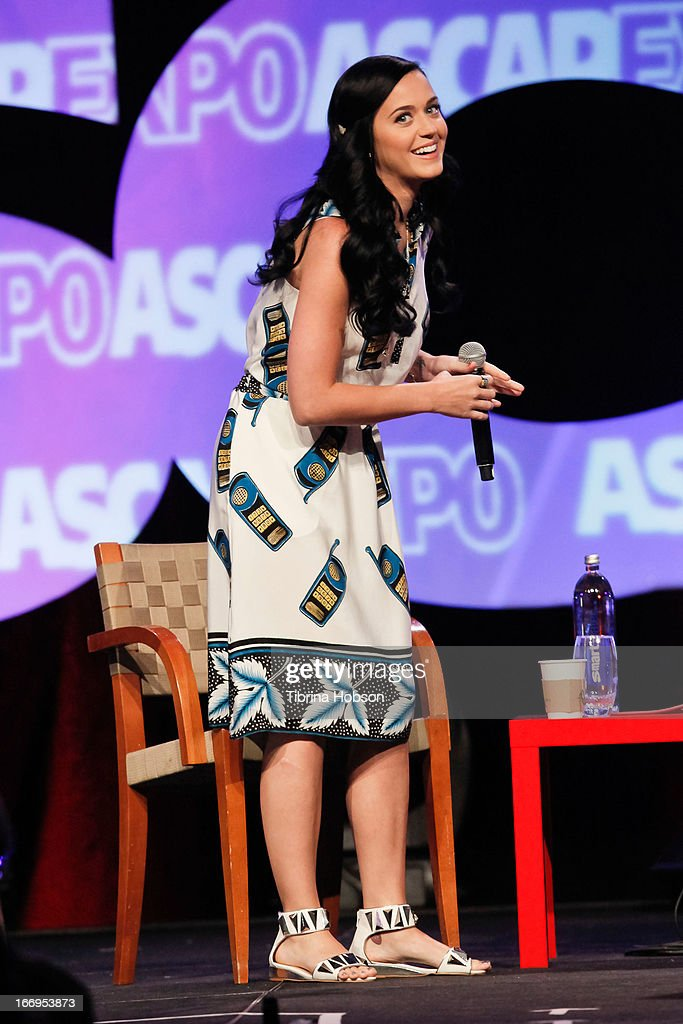 Katy Perry attends the 2013 ASCAP 'I Create Music' Expo at Loews Hollywood Hotel on April 18, 2013 in Hollywood, California.
