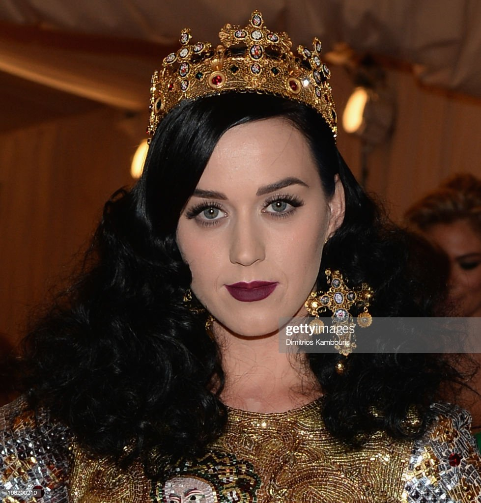 Katy Perry attends the 2013 Costume Institute Gala -