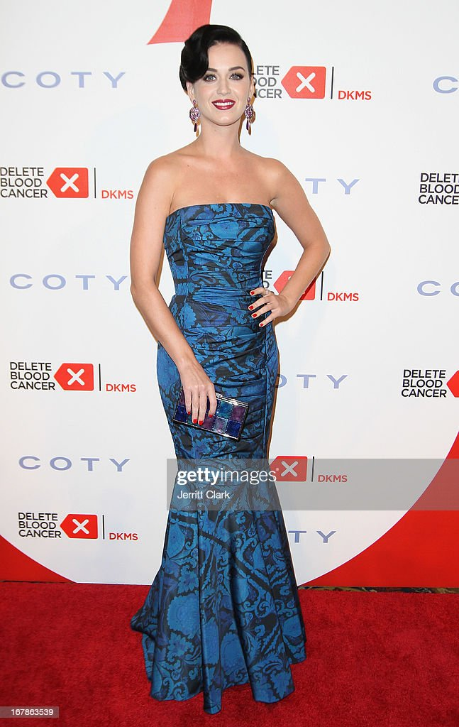 <a gi-track='captionPersonalityLinkClicked' href=/galleries/search?phrase=Katy+Perry&family=editorial&specificpeople=599558 ng-click='$event.stopPropagation()'>Katy Perry</a> attends the 2013 Delete Blood Cancer Gala at Cipriani Wall Street on May 1, 2013 in New York City.
