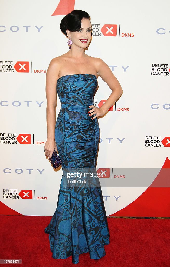 Katy Perry attends the 2013 Delete Blood Cancer Gala at Cipriani Wall Street on May 1, 2013 in New York City.