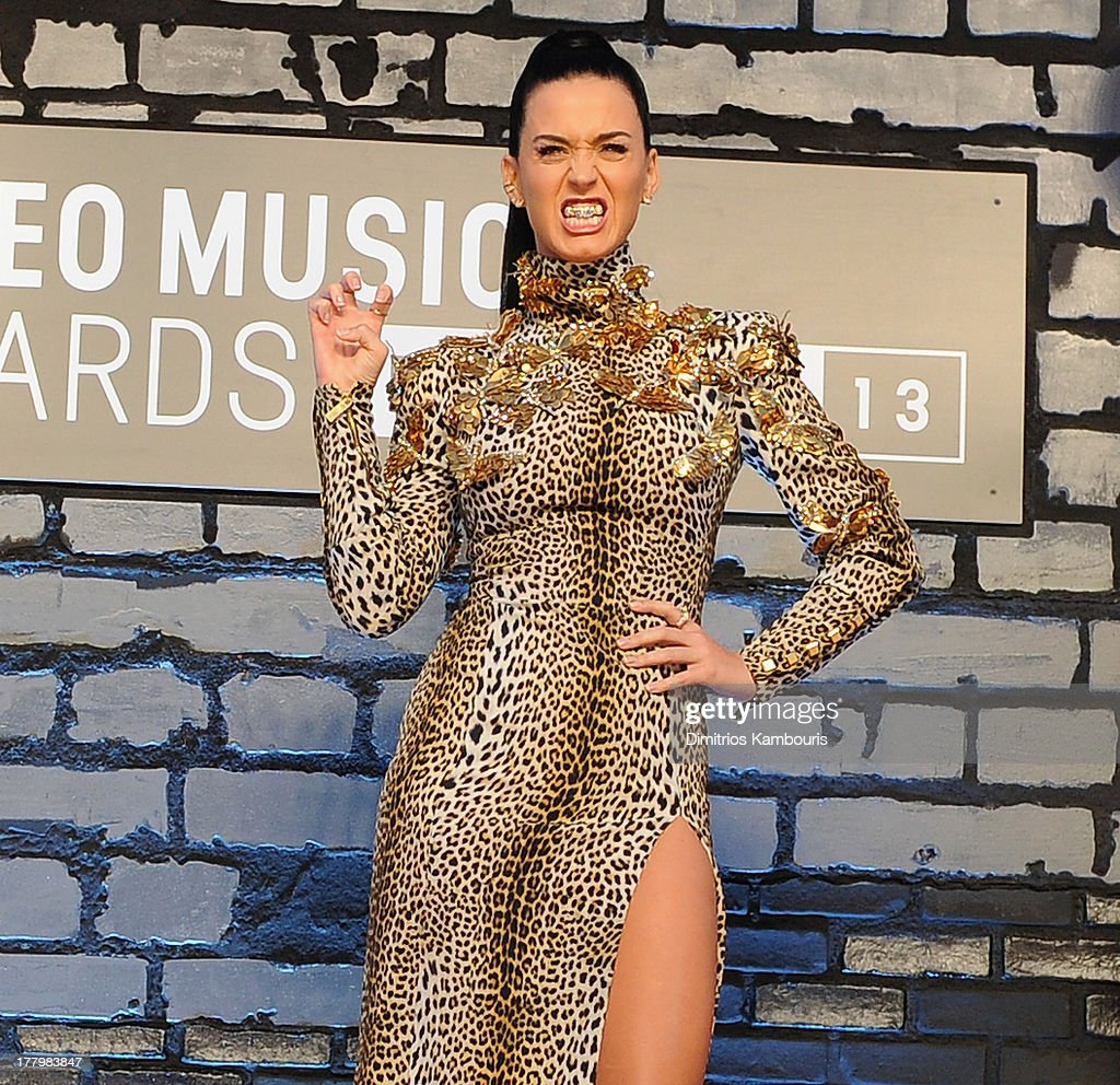 Katy Perry attends the 2013 MTV Video Music Awards at the Barclays Center on August 25, 2013 in the Brooklyn borough of New York City.