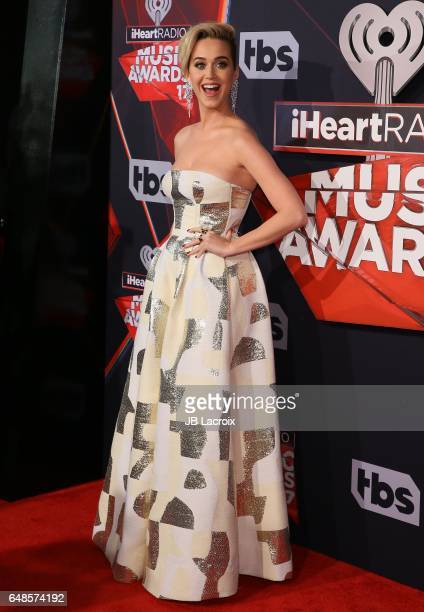 Katy Perry attends the 2017 iHeartRadio Music Awards at The Forum on March 5 2017 in Inglewood California