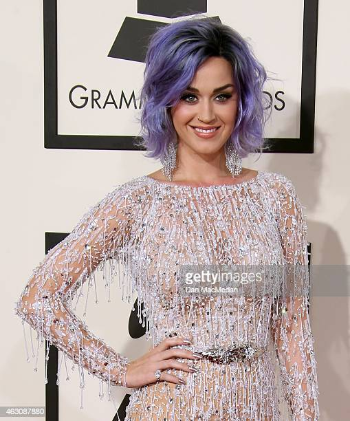 Katy Perry attends The 57th Annual GRAMMY Awards at the STAPLES Center on February 8 2015 in Los Angeles California