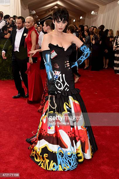 Katy Perry attends the 'China Through The Looking Glass' Costume Institute Benefit Gala at the Metropolitan Museum of Art on May 4 2015 in New York...