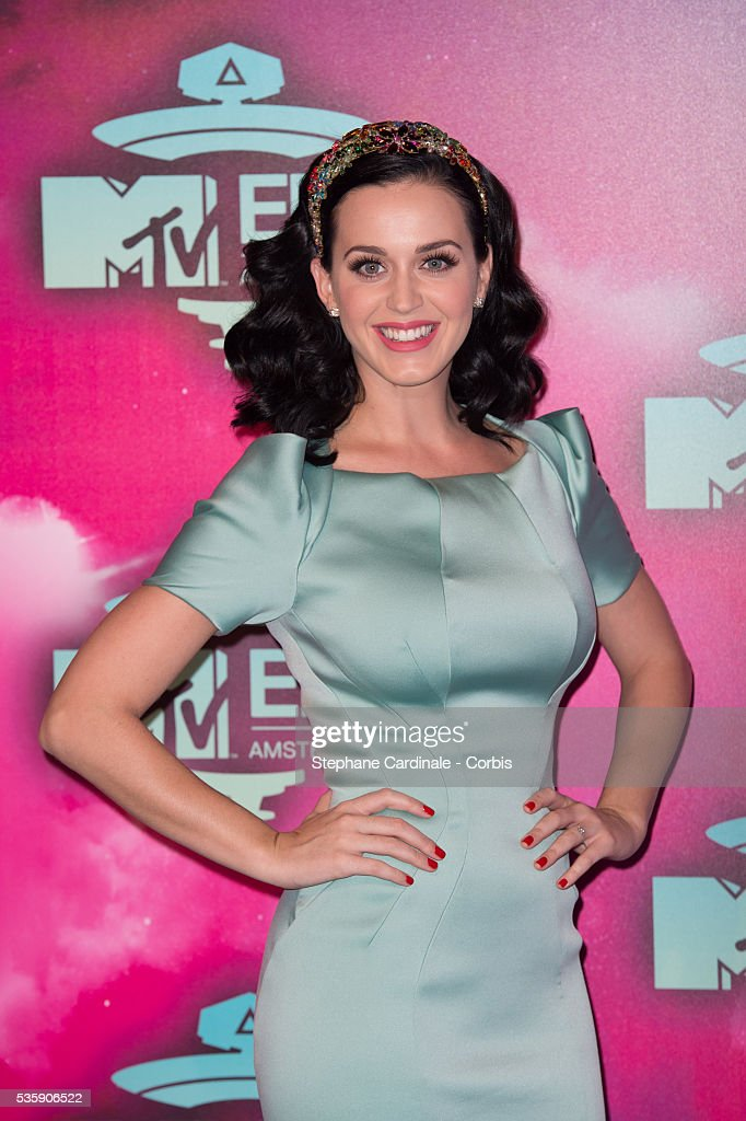 Katy Perry attends the MTV EMA's 2013 at the Ziggo Dome in Amsterdam, Netherlands.