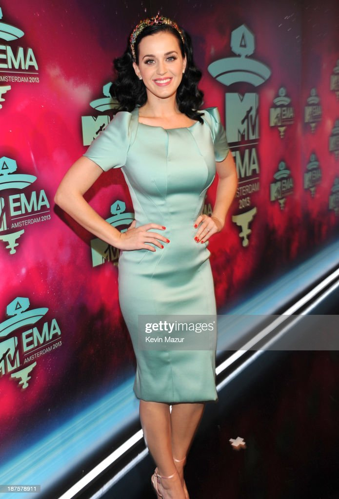 <a gi-track='captionPersonalityLinkClicked' href=/galleries/search?phrase=Katy+Perry&family=editorial&specificpeople=599558 ng-click='$event.stopPropagation()'>Katy Perry</a> attends the MTV EMA's 2013 at the Ziggo Dome on November 10, 2013 in Amsterdam, Netherlands.