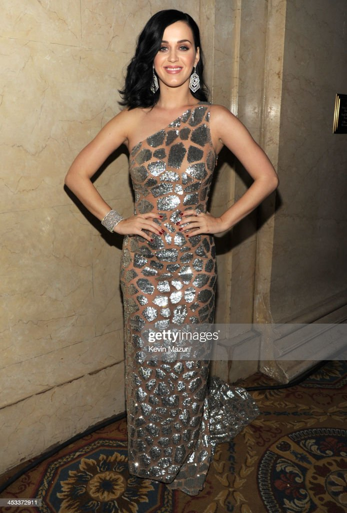 Katy Perry attends The Ninth Annual UNICEF Snowflake Ball at Cipriani Wall Street on December 3 2013 in New York City