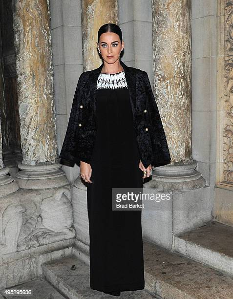 Katy Perry attends the opening night 'Fortuna Desperata' Opening Night at St Barts Cathedral on November 1 2015 in New York City