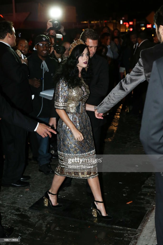 <a gi-track='captionPersonalityLinkClicked' href=/galleries/search?phrase=Katy+Perry&family=editorial&specificpeople=599558 ng-click='$event.stopPropagation()'>Katy Perry</a> attends the 'PUNK: Chaos To Couture' Costume Institute Gala after party at The Standard hotel on May 6, 2013 in New York City.