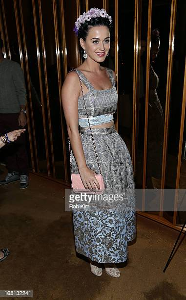 Katy Perry attends the the preMet Ball special screening of 'The Great Gatsby' afterparty at The Top of The Standard on May 5 2013 in New York City
