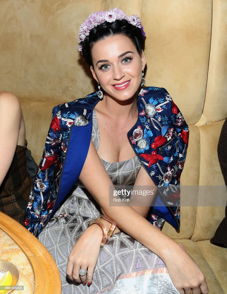 Katy Perry attends the the pre-Met Ball special screening of 'The Great Gatsby' after-party at The Top of The Standard on May 5, 2013 in New York City.