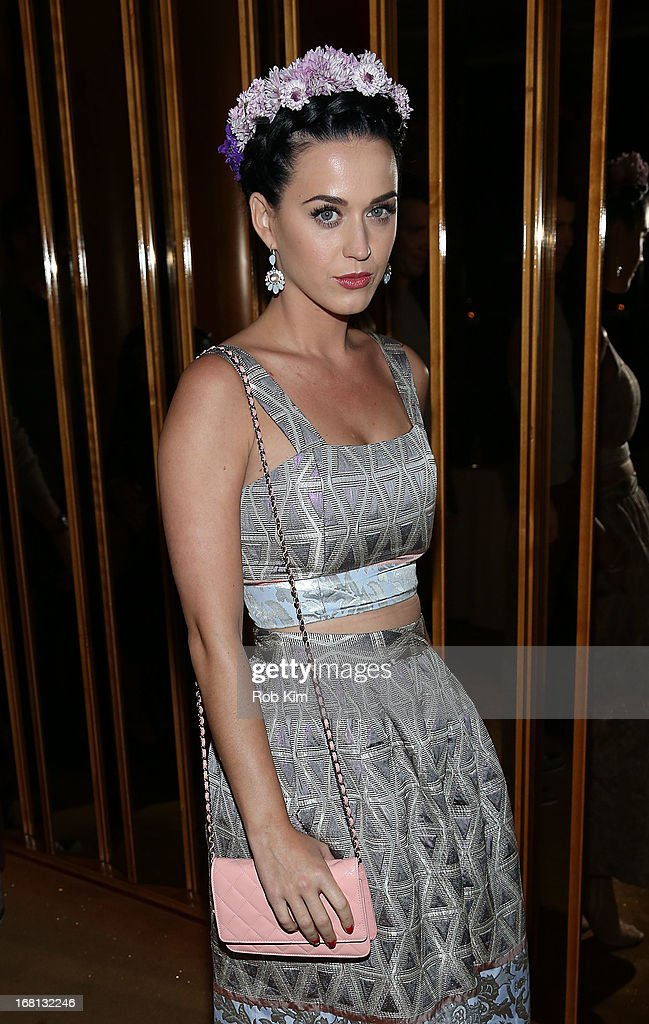 <a gi-track='captionPersonalityLinkClicked' href=/galleries/search?phrase=Katy+Perry&family=editorial&specificpeople=599558 ng-click='$event.stopPropagation()'>Katy Perry</a> attends the the pre-Met Ball special screening of 'The Great Gatsby' after-party at The Top of The Standard on May 5, 2013 in New York City.