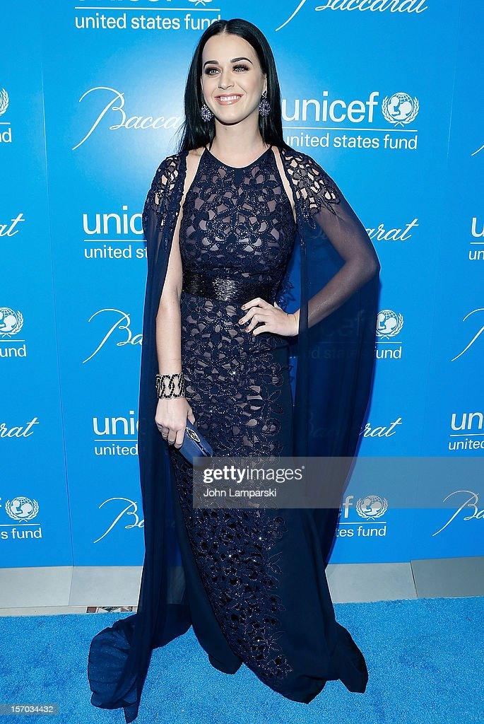 <a gi-track='captionPersonalityLinkClicked' href=/galleries/search?phrase=Katy+Perry&family=editorial&specificpeople=599558 ng-click='$event.stopPropagation()'>Katy Perry</a> attends the UNICEF Snowflake Ball 2012 at Cipriani 42nd Street on November 27, 2012 in New York City.