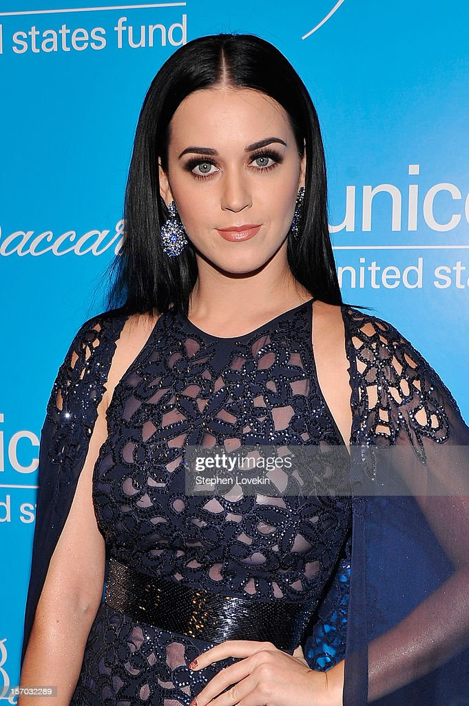 Katy Perry attends the Unicef SnowFlake Ball at Cipriani 42nd Street on November 27, 2012 in New York City.