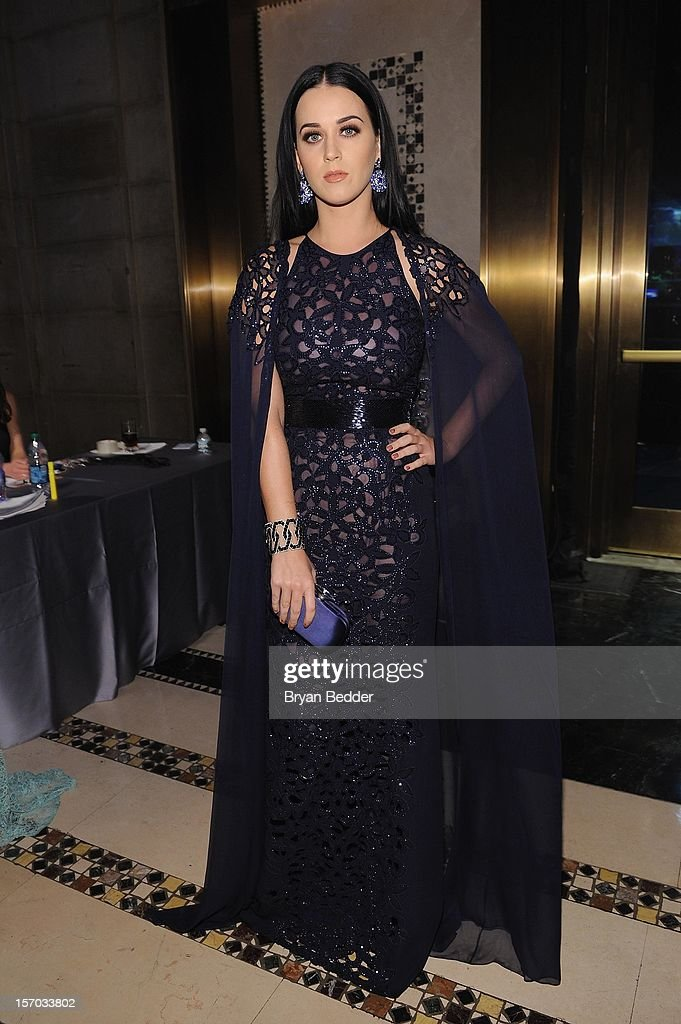 <a gi-track='captionPersonalityLinkClicked' href=/galleries/search?phrase=Katy+Perry&family=editorial&specificpeople=599558 ng-click='$event.stopPropagation()'>Katy Perry</a> attends the Unicef SnowFlake Ball at Cipriani 42nd Street on November 27, 2012 in New York City.
