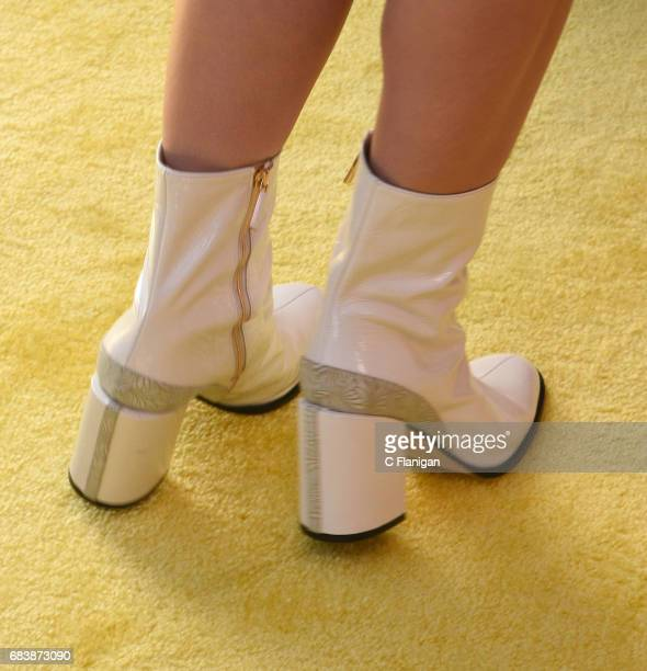 Katy Perry boot detail attends KIIS FM's 2017 Wango Tango at StubHub Center on May 13 2017 in Carson California