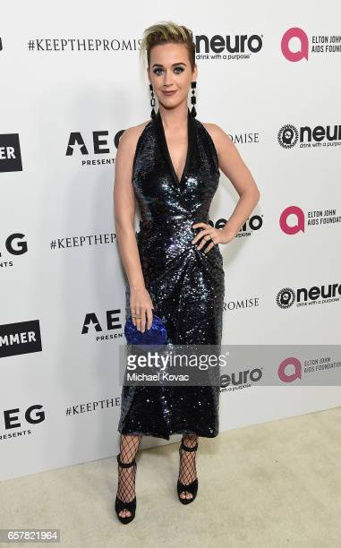 Katy Perry celebrates Elton John's 70th Birthday and 50Year Songwriting Partnership with Bernie Taupin benefiting the Elton John AIDS Foundation and...
