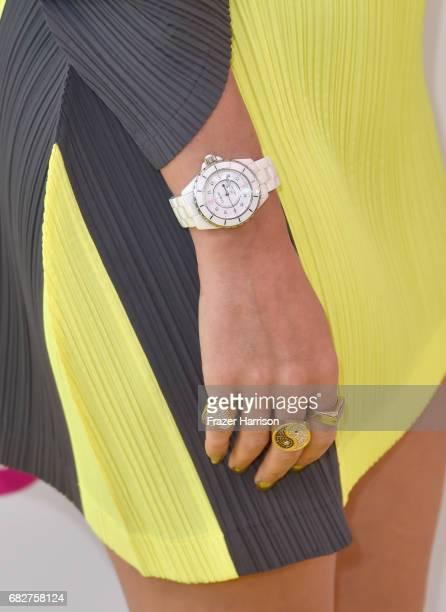 Katy Perry fashion detail attends 1027 KIIS FM's 2017 Wango Tango at StubHub Center on May 13 2017 in Carson California
