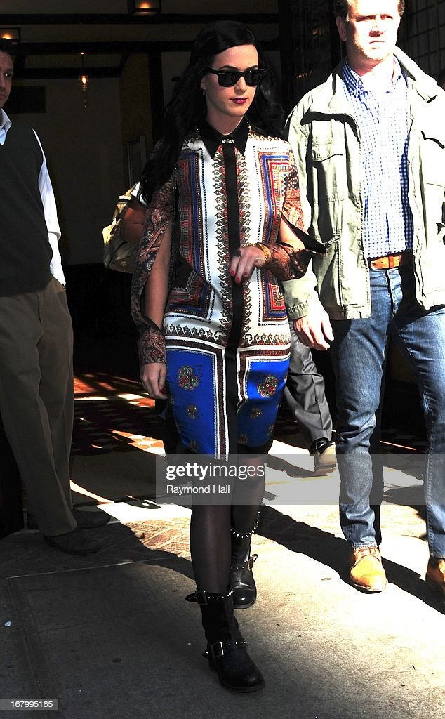 <a gi-track='captionPersonalityLinkClicked' href=/galleries/search?phrase=Katy+Perry&family=editorial&specificpeople=599558 ng-click='$event.stopPropagation()'>Katy Perry</a> is seen in Soho on May 3, 2013 in New York City.