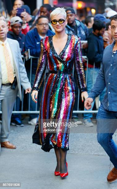 Katy Perry on October 4 2017 in New York City