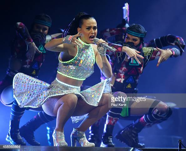 Katy Perry performs live at Perth Arena during her Prismatic World Tour on November 7 2014 in Perth Australia