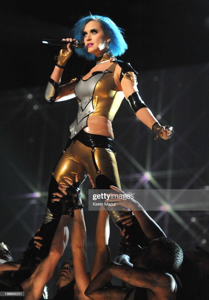 <a gi-track='captionPersonalityLinkClicked' href=/galleries/search?phrase=Katy+Perry&family=editorial&specificpeople=599558 ng-click='$event.stopPropagation()'>Katy Perry</a> performs onstage at The 54th Annual GRAMMY Awards at Staples Center on February 12, 2012 in Los Angeles, California.