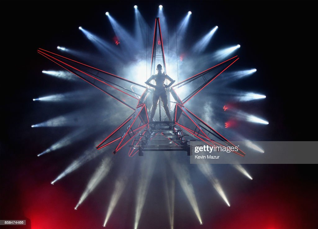 Katy Perry performs onstage during her 'Witness: The Tour' at Madison Square Garden on October 6, 2017 in New York City.