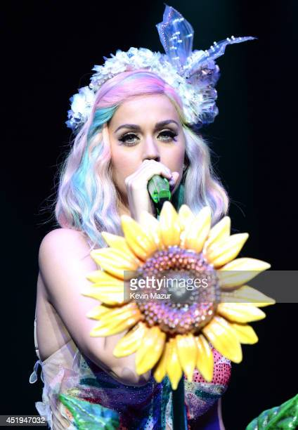 Katy Perry performs onstage during 'The Prismatic World Tour' at Madison Square Garden on July 9 2014 in New York City