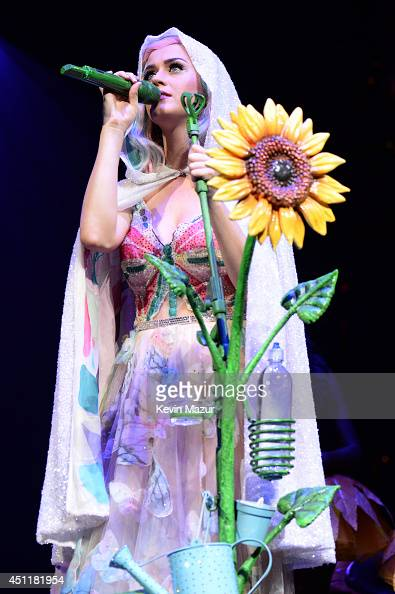 Katy Perry performs onstage during 'The Prismatic World Tour' at the Verizon Center on June 24 2014 in Washington DC