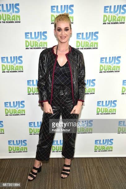 Katy Perry visits 'The Elvis Duran Z100 Morning Show' at Z100 Studio on May 23 2017 in New York City