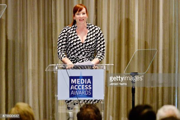 Katy Sullivan attends the Media Access Awards 2017 at The Four Seasons on November 17 2017 in Beverly Hills California