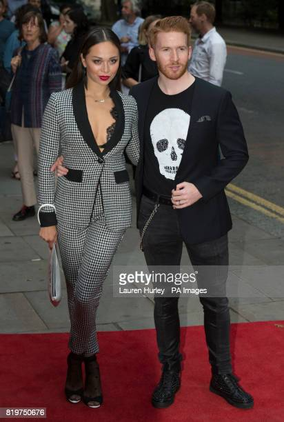 Katya and Neil Jones attending the opening night of Sadleracircs Wells summer tango spectacular Tanguera in London