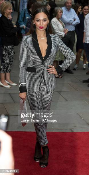 Katya Jones attending the opening night of Sadleracircs Wells summer tango spectacular Tanguera in London