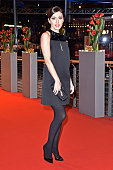 Katya Mtsitouridze attends the 'Hail Caesar' premiere during the 66th Berlinale International Film Festival Berlin at Berlinale Palace on February 11...