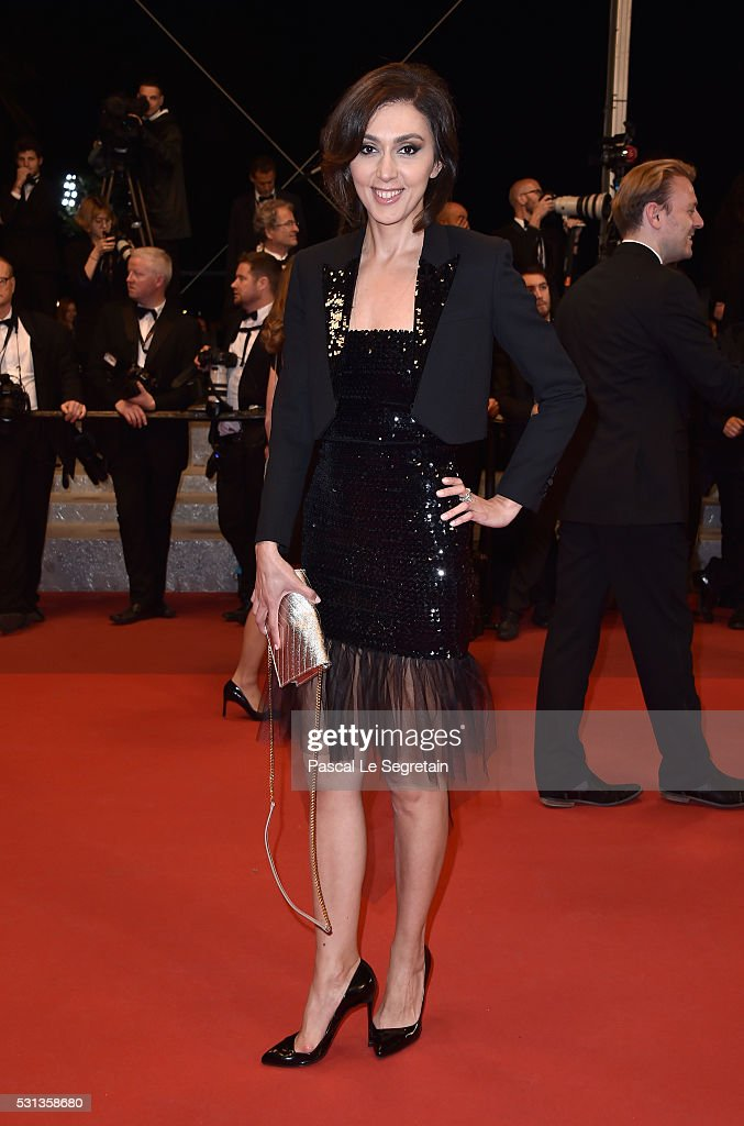 Katya Mtsitouridze attends the 'I, Daniel Blake' premiere during the 69th annual Cannes Film Festival at the Palais des Festivals on May 13, 2016 in Cannes, France.