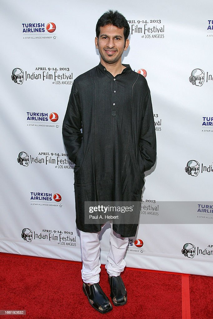 Kaushal Oza attends the Indian Film Festival Of Los Angeles (IFFLA) Opening Night Gala For 'Gangs Of Wasseypur' on April 9, 2013 in Hollywood, California.