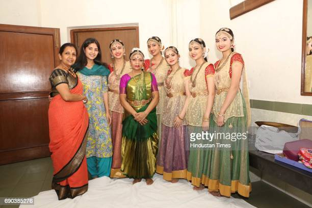 Kaushalya Reddy and Atisha Pratap during the UMAK festival at Indian Council for Cultural Relations on May 27 2017 in New Delhi India The dance...