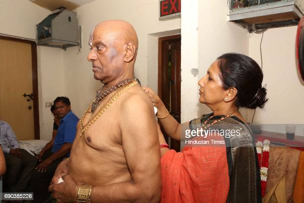 Kaushalya Reddy and Raja Reddy during the UMAK festival at Indian Council for Cultural Relations on May 27 2017 in New Delhi India The dance...