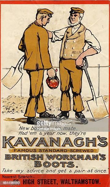 Kavanagh's British Workmans Boots c1910