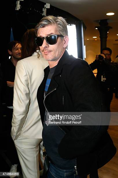 Kavinsky attends the ETAM show as part of the Paris Fashion Week Womenswear Fall/Winter 20142015 on February 25 2014 in Paris France