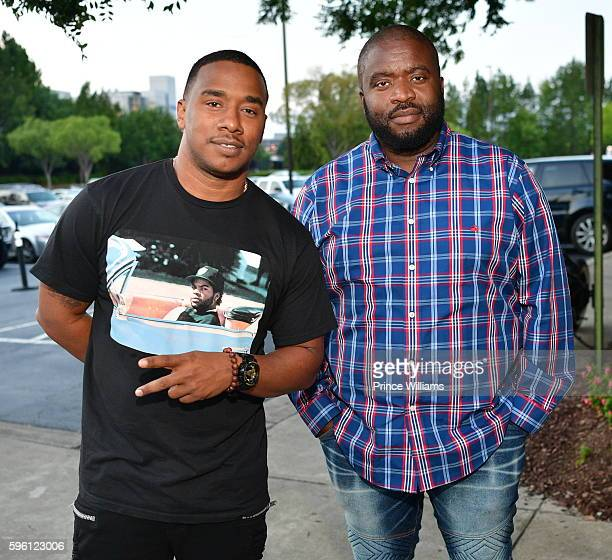Kawan Prather and Jacob York attend Celebrating 25 Years Boyz N The Hood on August 23 2016 in Atlanta Georgia