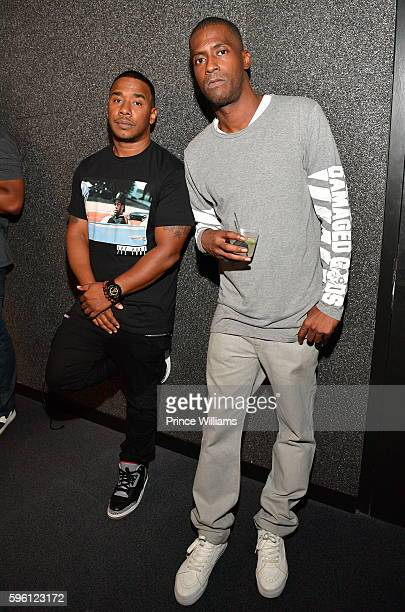 Kawan Prather and Rico Wade attend Celebrating 25 Years Boyz N The Hood on August 23 2016 in Atlanta Georgia