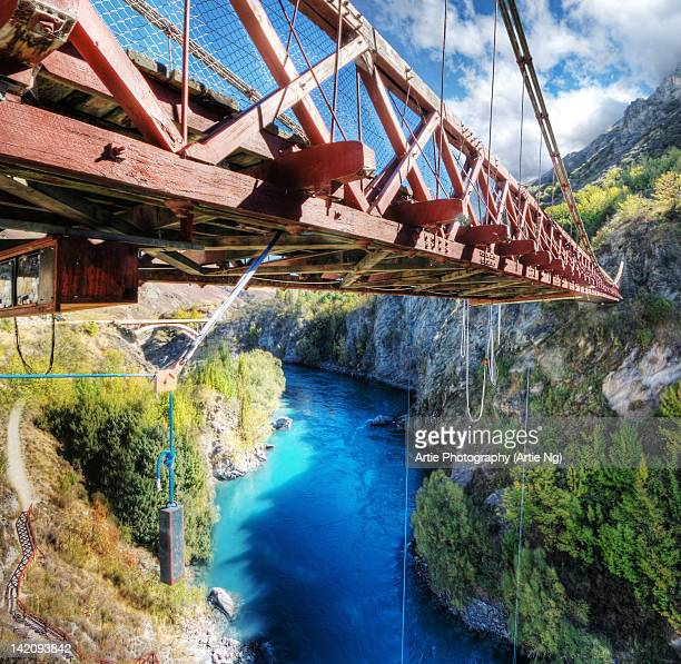 Kawarau River & Suspension Bridge, Queenstown, NZ