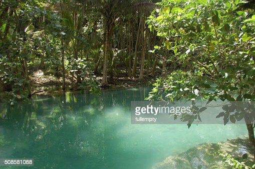 Kawasan river in Cebu, Philippines : Stockfoto