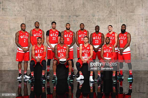Kawhi Leonard LaMarcus Aldridge Russell Westbrook Anthony Davis Kobe Bryant DeMarcus Cousins Kevin Durant Stephen Curry Draymond Green Chris Paul...