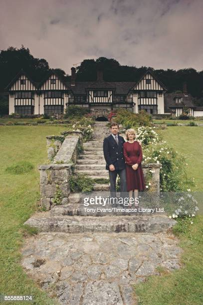 Kay and Paul Henderson pioneers of the British country house hotel movement at Gidleigh Park UK 1983