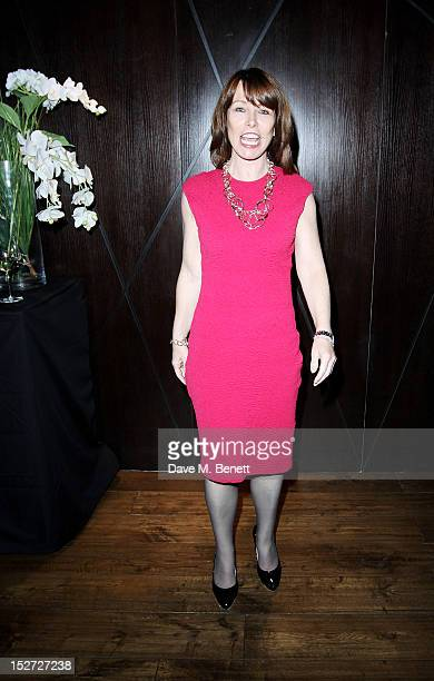 Kay Burley attends an after party following the press night performance of 'Let It Be' at DSTRKT London on September 24 2012 in London England