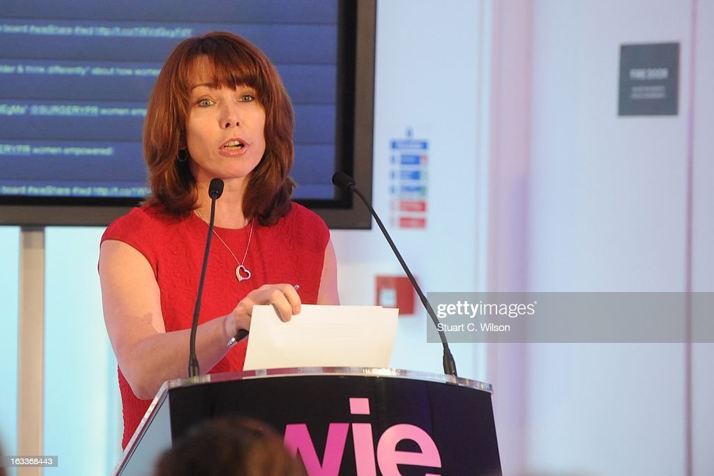 <a gi-track='captionPersonalityLinkClicked' href=/galleries/search?phrase=Kay+Burley&family=editorial&specificpeople=5407485 ng-click='$event.stopPropagation()'>Kay Burley</a> attends the annual WIE Symposium at The Hospital Club on March 8, 2013 in London, England.