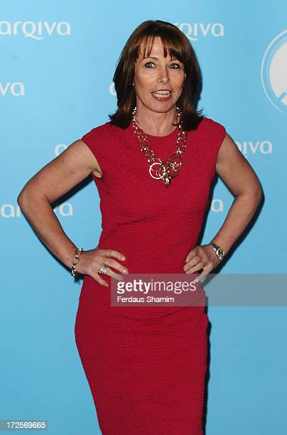 Kay Burley attends the Arqiva Commercial Radion Awards at Park Plaza Westminster Bridge Hotel on July 3 2013 in London England