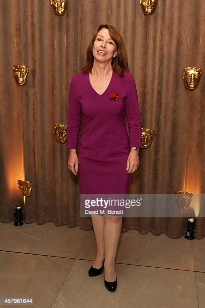 Kay Burley attends the BAFTA Breakthrough Brits party at Burberry on October 27 2014 in London England
